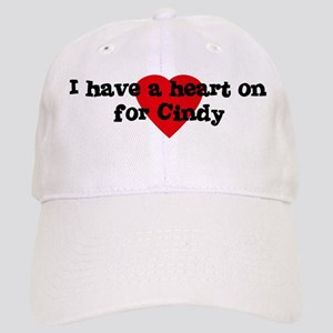 Heart on for Cindy Cap
