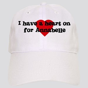 Heart on for Annabelle Cap