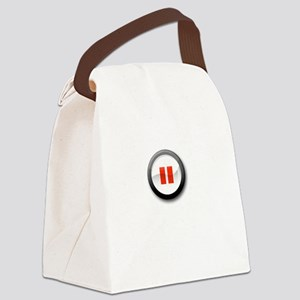 not the father dark Canvas Lunch Bag