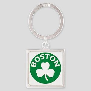 Boston2 Square Keychain