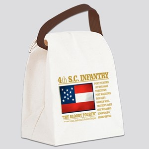 4th South Carolina Infantry Canvas Lunch Bag