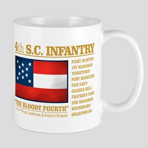4th South Carolina Infantry Mugs