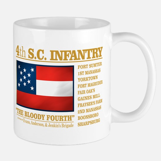 4th South Carolina Infantry Mugs