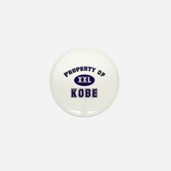 Property of kobe Mini Button