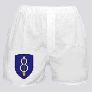 8th Infantry Division Boxer Shorts
