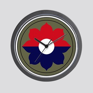 9th Infantry Division Wall Clock