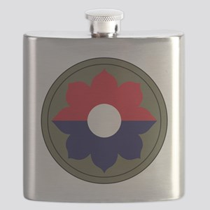9th Infantry Division Flask