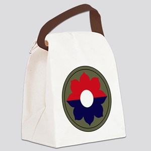 9th Infantry Division Canvas Lunch Bag