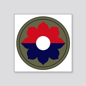 "9th Infantry Division Square Sticker 3"" x 3"""
