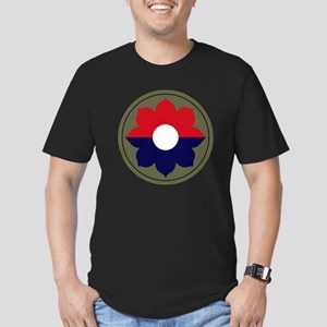 9th Infantry Division Men's Fitted T-Shirt (dark)