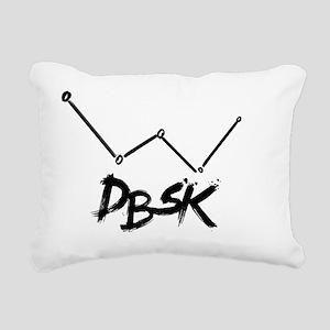 DBSK Rectangular Canvas Pillow