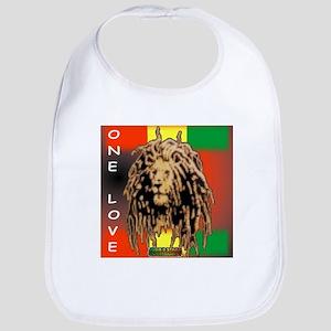 ONE LOVE LION Bib