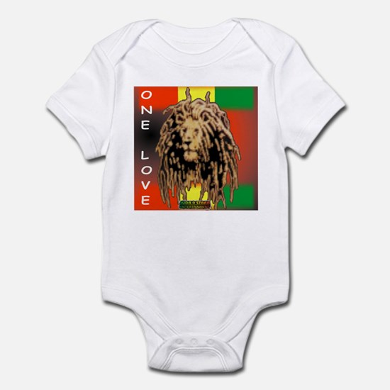 ONE LOVE LION Infant Bodysuit