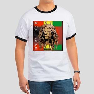 ONE LOVE LION Ringer T