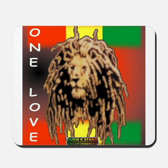 ONE LOVE LION Mousepad
