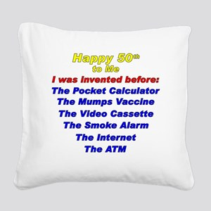 50-years-to-2015 Square Canvas Pillow
