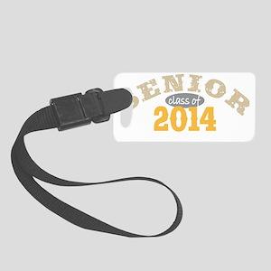 Senior 2014 Yellow 2 Small Luggage Tag