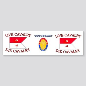 6th Squadron 4th Cavalry mug4 Sticker (Bumper)