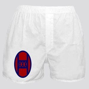 30th Infantry Division Boxer Shorts