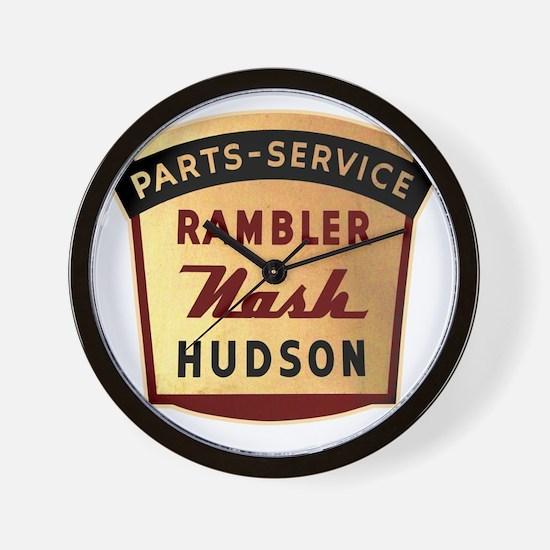 nash rambler hudson hornet Wall Clock