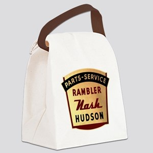 nash rambler hudson hornet Canvas Lunch Bag