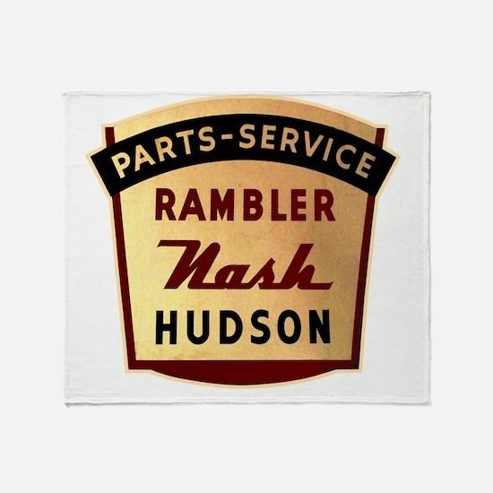 nash rambler hudson hornet Throw Blanket