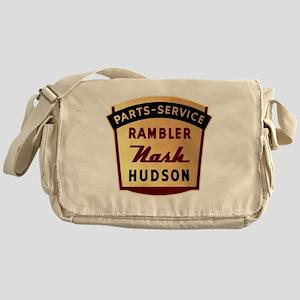 nash rambler hudson hornet Messenger Bag