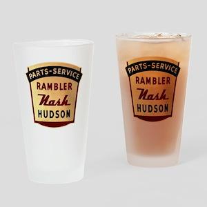 nash rambler hudson hornet Drinking Glass