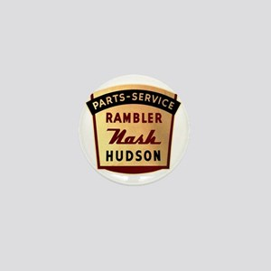 nash rambler hudson hornet Mini Button