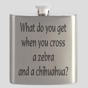greeting card Zebhuahua text Flask