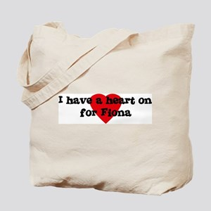 Heart on for Fiona Tote Bag