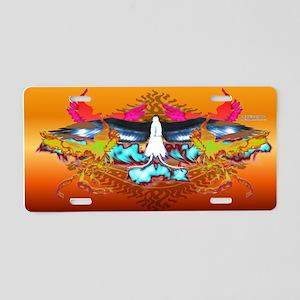 Phoenixes Aluminum License Plate