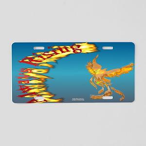 Always Rising Phoenix Aluminum License Plate
