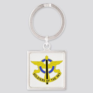 DUI - 10th Aviation Regiment Square Keychain
