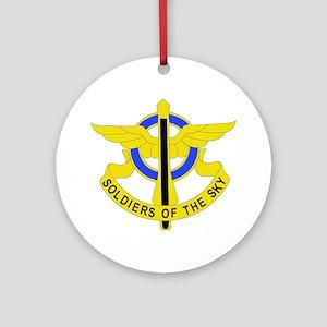 DUI - 10th Aviation Regiment Round Ornament