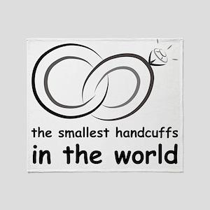 handcuffs Throw Blanket