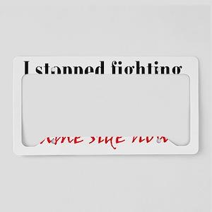 inner-demons_btle1 License Plate Holder