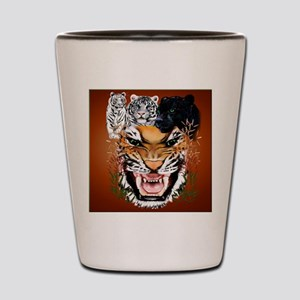 Big Cats_pillow Shot Glass