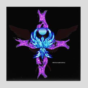 Phoenix Cross Ii Tile Coaster
