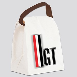 GTBLACK Canvas Lunch Bag