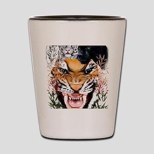 Big Cats Trans Shot Glass