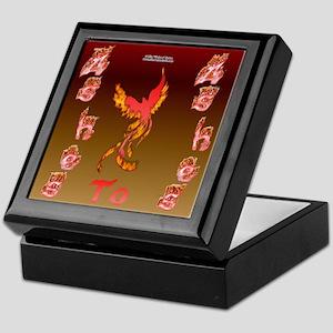 Phoenix Ash Keepsake Box
