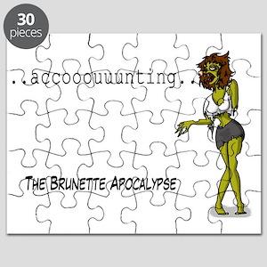 brunette apocalypse Puzzle