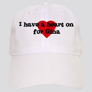 Heart on for Gina Cap