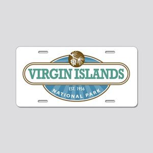 Virgin Islands National Park Aluminum License Plat