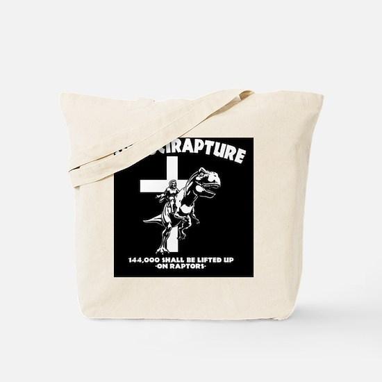 Velicirapture-tRex-BUT Tote Bag