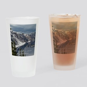 Cushion - Lose yourself in nature a Drinking Glass