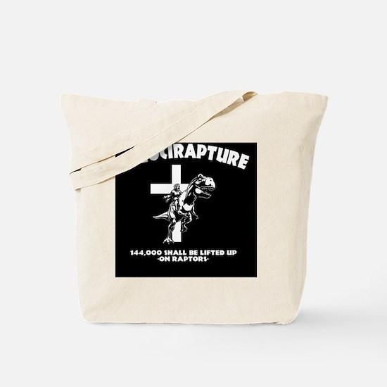 Velicirapture-tRex-OV Tote Bag