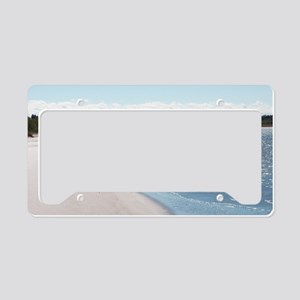 ReagansMom Dunes Park 5 39 wi License Plate Holder