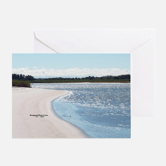 ReagansMom Dunes Park 5 39 width by  Greeting Card
